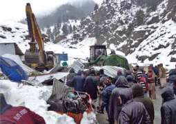 Two persons of PTC still missing under avalanche at Lawari top