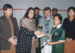 Komal Khan beat Laiba Ijaz to win KP Women Squash League title