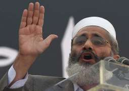 JI Chief Sirajul Haq for forging unity on right of self determination to Kashmiris