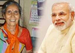 Modi's wife Jashodaben injured in car accident