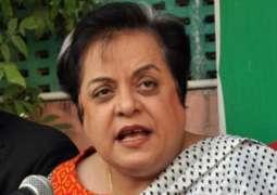 An anti-terrorism court declares Shireen Mazari innocent in 2014 Dharna  cases