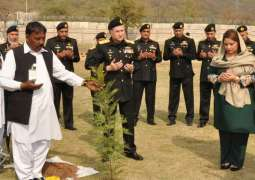 Pakistan Navy launches Spring Tree Plantation Campaign 2018