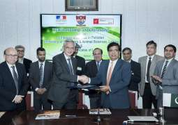 UVAS inks MoU with Alliance Française Lahore and Embassy of France to establish  Alliance Française branch on UVAS Campus