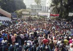 Thousands protest jailing of Bangladesh opposition leader