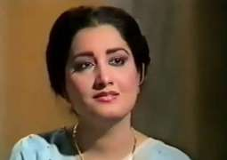 Rs 10m cheque given to singer Naheed Akhtar
