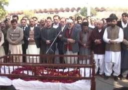 Asma Jahangir's funeral prayers offered at Lahore's Gaddafi Stadium