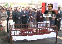 Rights advocate Asma Jahangir laid to rest at her Bedian farmhouse