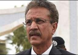 Mayor Karachi Wasim Akhtar review development works in city