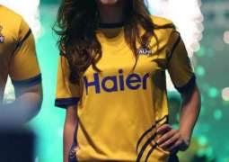 Defending Champions Peshawar Zalmi Launched their new kit in a spectacular ceremony in Lahore