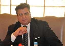 Minister Privatisation Daniyal Aziz meets UK PM Trade Envoy