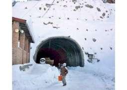 Lowari tunnel brings respite for people of Chitral in winter season