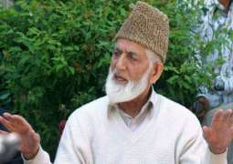 The Chairman of All Parties Hurriyat Conference, Syed Ali Gilani concerned about detainees' deteriorating health
