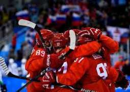 Russians, USA bounce back before Olympic hockey showdown