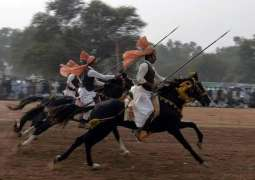 Annual tent pegging festival begins at Pakistan Sports Complex