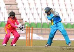PCB Dynamites defeats Blasters in Triangular Women Cricket 2018