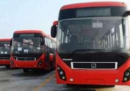 پشاور میٹرو بس منصوبے دے ڈیزائن وچ کئی وار تبدیلی، لاگت ڈھائی ارب ودھ جائے گی