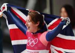 Skeleton's Yarnold grabs Britain's first gold