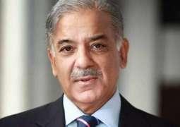 Factual freedom meaningless without economic freedom: CM Punjab Shehbaz Sharif