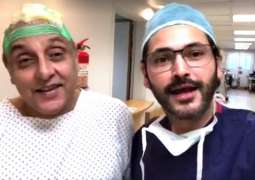 Actor Sajid Hasan to go through scalp reconstruction surgery after failed hair transplant surgery
