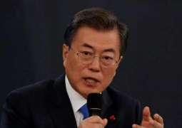 S. Korea's Moon urges 'stern' response to new US tariffs