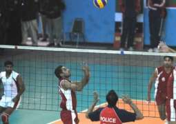 WAPDA beats Navy in opening match of National volleyball