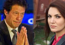 Reham Khan accuses Imran Khan of being unfaithful