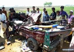 Three dead, 12 injured in Islamabad road mishap
