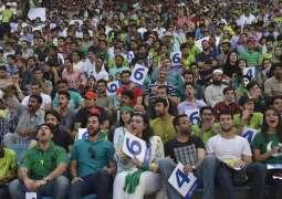 پاکستان سپر لیگ دی افتتاحی تقریب: دبئی کرکٹ سٹیڈیم نکو نک بھر گیا، شہر دیاں سڑکاں اُتے ٹریفک جام