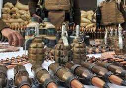 Frontier Corps seizes huge cache of arms, explosives in Balochistan: ISPR