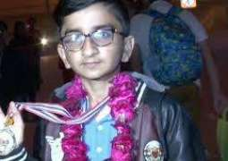 Pakistan prodigy wins gold medal for global mathematics competition