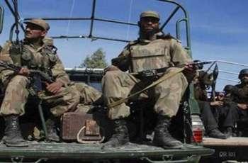 مقتل ثلاثة إرهابيين في عملية أمنية بمنطقة ديرة غازي خان