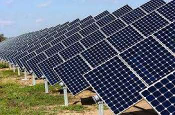 Solar power plant to be built in S. Afghan province