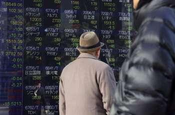 Tokyo stocks snap three-day winning streak 20 February 2018