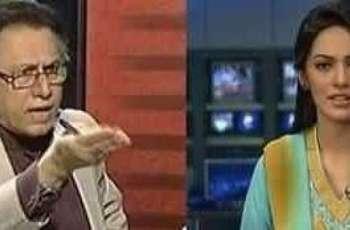 مشہور پرچاکار حسن نثار، عائشہ بخش تے امتیاز عالم نوں توہین عدالت دا نوٹس جاری