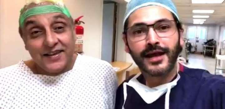 Actor Sajid Hasan to go through scalp reconstruction surgery afte ..