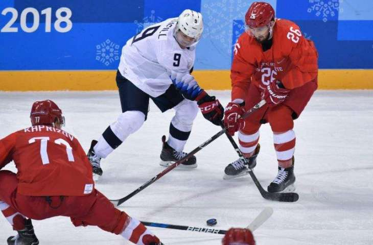 Russians blank USA in intense Olympic hockey showdown