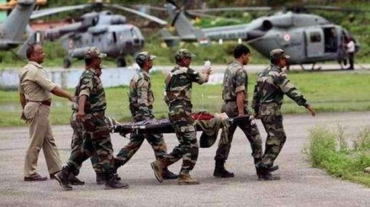 ایل او سی اُتے فائرنگ : بھارتی کیپٹن سنے4اہلکار ہلاک: بھارتی میڈیا
