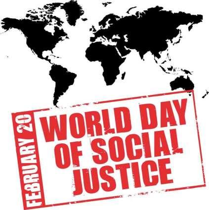 پاکستان سمیت پوری دنیا اچ سماجی انصاف دا عالمی ڈینھ 20 فروری کوں منایا ویسی