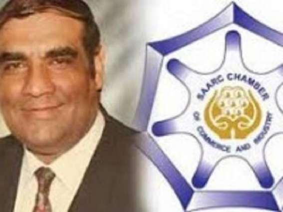 President- elect SAARC Chamber Of Commerce And Industry for greater regional trade integration