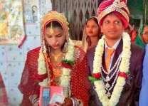 بھارت:ووہٹی نے گنجے لاڑے نال ویاہ کرن توں انکار کر دتا