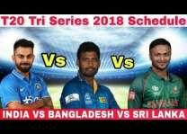 ترائے ملکی ٹی 20 سیریز اچ (اج) سری لنکا اتے بنگلہ دیش دیاں ٹیماں وچال میچ کھیڈیا ویسی