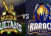 پی ایس ایل 3:ملتان سلطانز نے کراچی کنگز خلاف ٹاس جت لیا