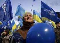 Kiev says Russians in Ukraine will be unable to vote in Sunday's election