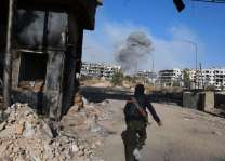 Air strikes on Syria's Ghouta kill 30 civilians: monitor