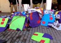2000 Kites confiscated by police in Rawalpindi