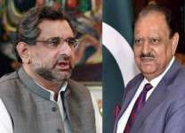 President Mamnoon Hussain, Prime Minister Shahid Khaqan Abbasi felicitate Chinese leaders on their re-election