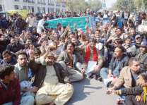 All Pakistan Clerks Association (APCA) observes pen down strike