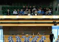 Man jumps from public gallery in Dutch parliament