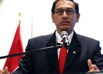 Peru's VP to step into void left by president's resignation