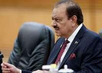 الرئيس الباكستاني: رغبة باكستان في الأمن يجب ألا إساءة تفسيرها